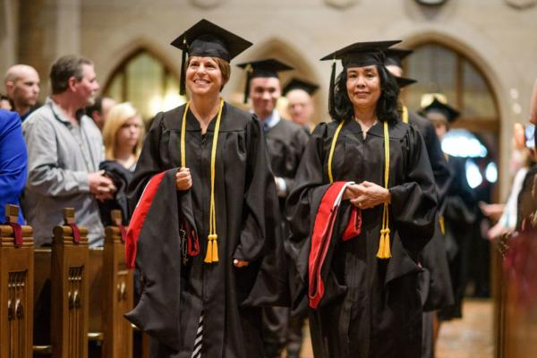 "Graduates Encouraged to be ""Humble Witnesses"""