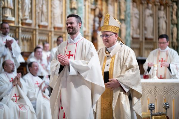 Prayers Carry Seminarian to Ordination