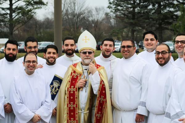 Sacred Rituals: Chaldean Seminarians Advance toward the Priesthood